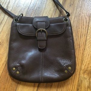 Brown Fossil crossbody bag